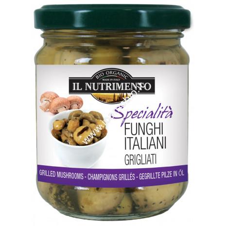 Funghi Italiani Grigliati 190g - Verdure Biologiche