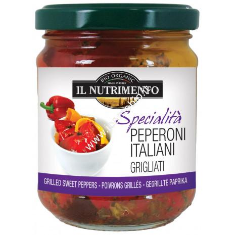 Peperoni Italiani Grigliati 190g - Verdure Biologiche