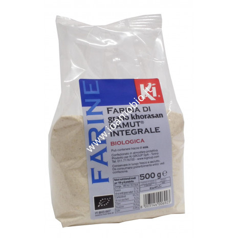 Farina di grano khorasan KAMUT® integrale 500g