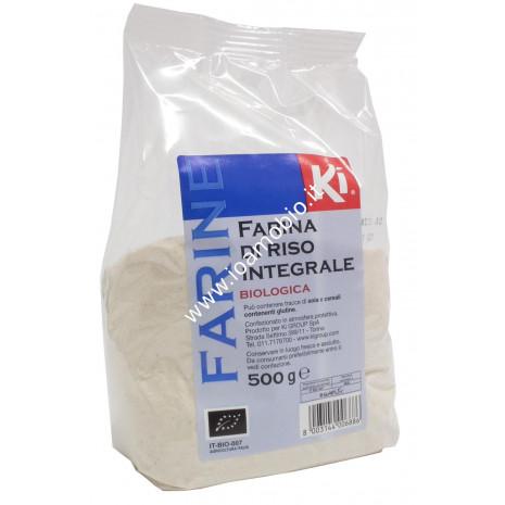 Farina di riso integrale 500g