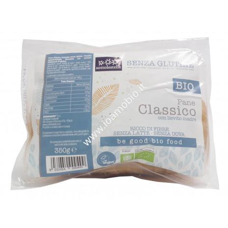 Pane Classico Senza Glutine 350g - Biologico Vegan Sotto le Stelle