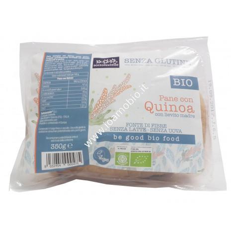 Pane con Quinoa Senza Glutine 350g - Biologico Vegan Sotto le Stelle