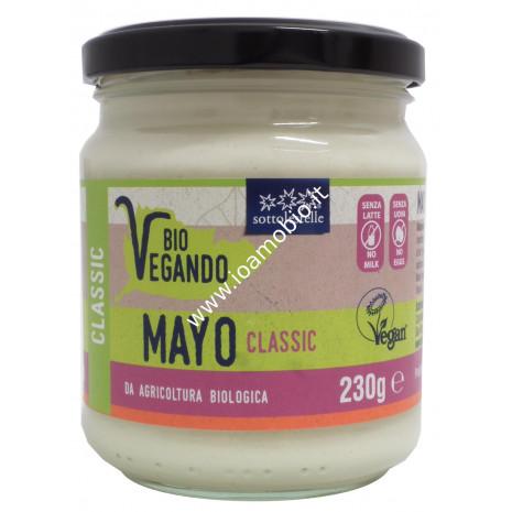 Mayo BioVegando Classica 230g - Maionese Biologica Vegan Sotto le Stelle