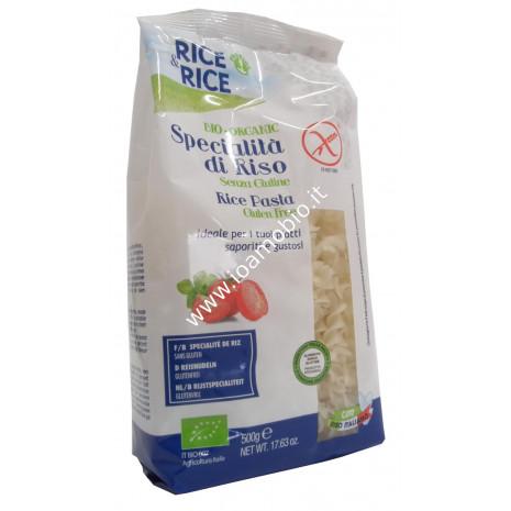 Fusilli di Riso 500g - Pasta Biologica Senza Glutine