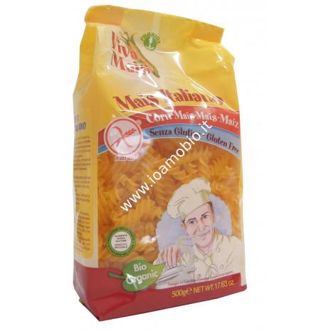 Fusilli di Mais Senza Glutine 500g - Pasta Biologica Viva Mais
