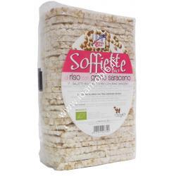 Soffiette di riso con grano saraceno 130g