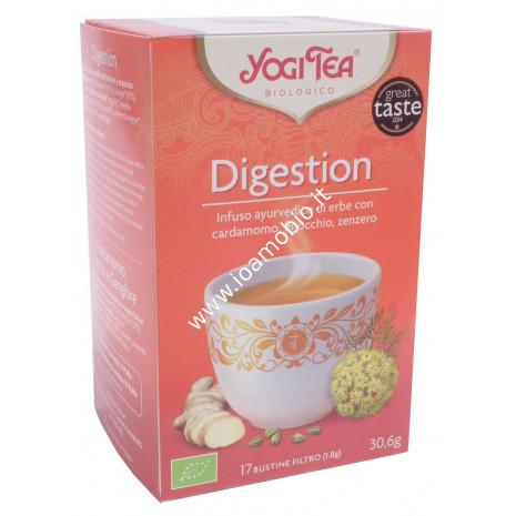 Yogi Tea - Digestion - Dolce, calmante, squisito
