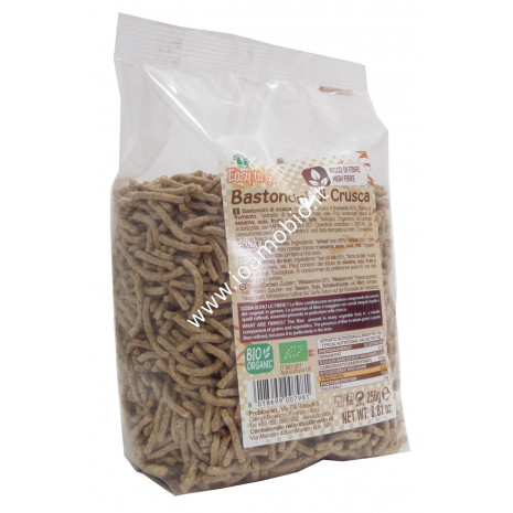 Bastoncini di Crusca di Grano Biologici 250g - Easy to Go
