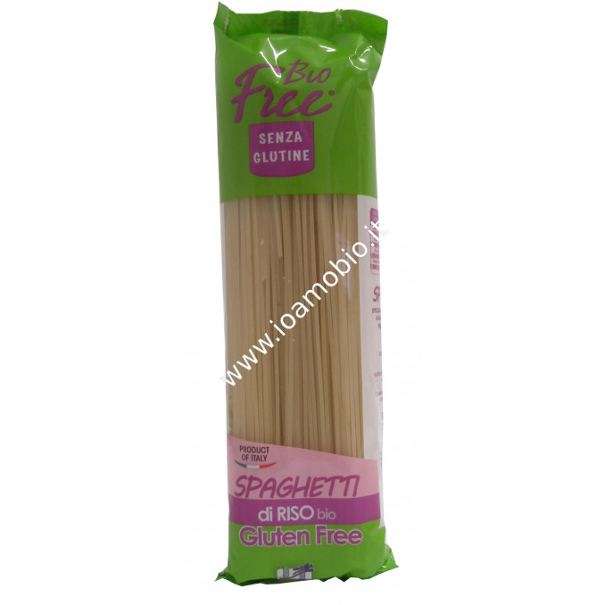 Bio Free® - Spaghetti di Riso senza Glutine 500g - Pasta Biologica