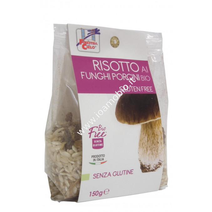 Bio Free® - Risotto ai Funghi Porcini Senza Glutine 150g - Biologico