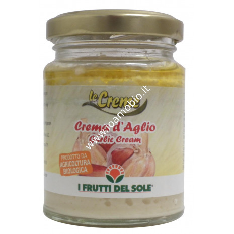 Crema di aglio biologica 80g - I Frutti del Sole