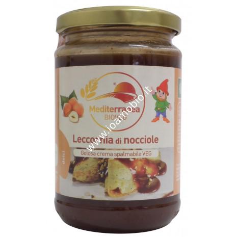 Leccornia di Nocciole - Crema Biologica Dolce Spalmabile alle Nocciole 300g