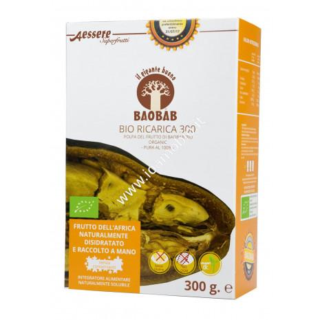 Baobab a essere ricarica bio 300g