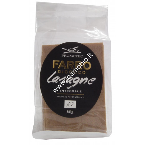 Lasagne integrali di farro dicocco 500g