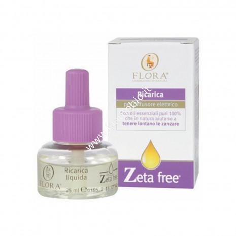 Refill Ricarica Zeta Free 25ml per Diffusore Elettrico Flora