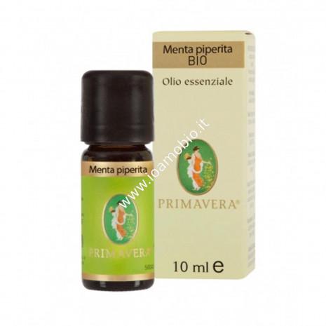 Olio essenziale Menta Piperita Bio 10ml - Primavera