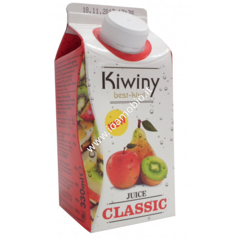 Kiwiny succo pera, mela, kiwi 330ml