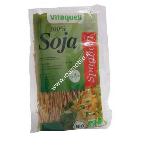 Spaghetti di soia bio 100% Vitaquell - 200g
