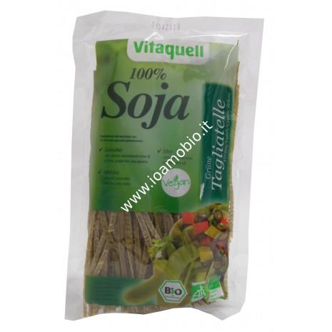 Tagliatelle di soia verde bio 100% Vitaquell - 200g