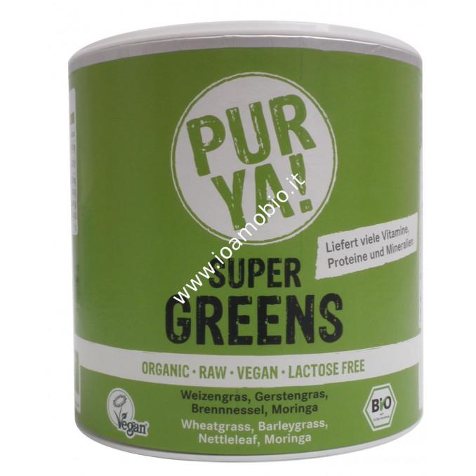PUR YA! Mix Super Greens Bio 150g - Alcalinizzante