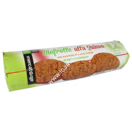 Biofrolle alla quinoa 240g - Biscotti Multicereale alla Quinoa con Miele