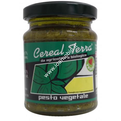Pesto vegetale senza aglio 120g - condimento biologico