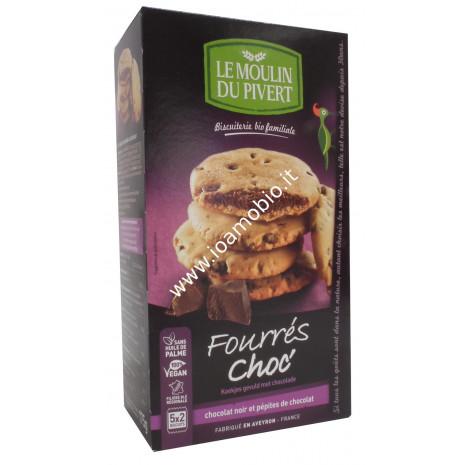 Le moulin du pivert-Cookies ripieni al ciocc. 5x35g