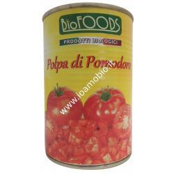 Biofoods - polpa di pomodoro italiano 400g