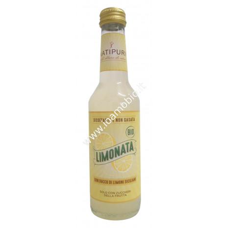 Limonata Biologica 275ml - Dissetante e non Gasata - Succo Natipuri