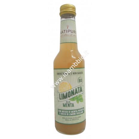 Limonata Biologica alla Menta 275ml - Rinfrescante e non Gasata - Succo Natipuri