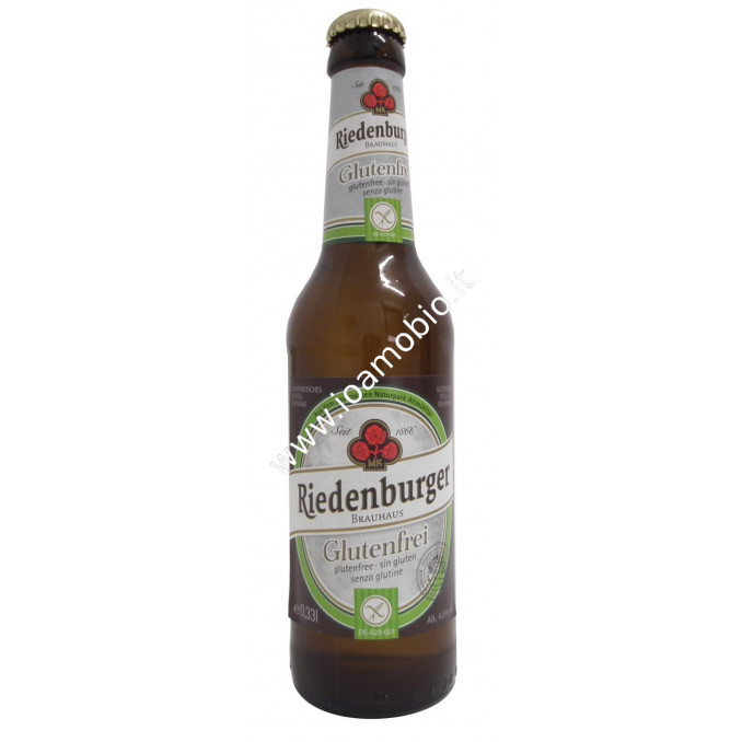 Riedenburger Birra Senza Glutine 330ml - Biologica