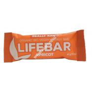 Barrette Lifebar all'Albicocca bio raw 47g