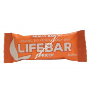 Barrette Lifebar all'Albicocca bio raw 47g