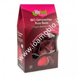 Chips Croccanti di Barbabietola Rossa Raw 60g - Lifefood