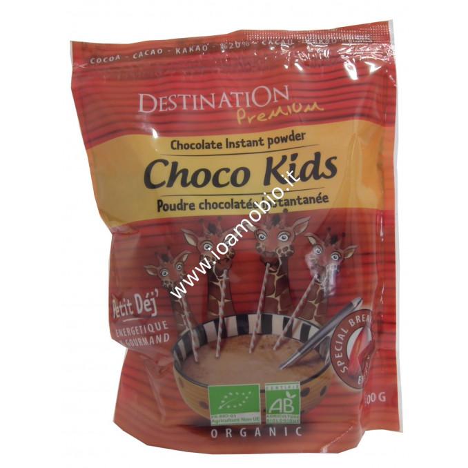 Crema di Avena e Cioccolata in Polvere Istantanea Bio 800g - Choco Kids