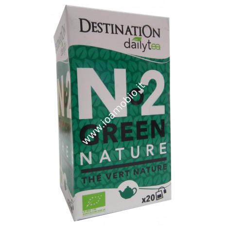 Tè verde al naturale-Ceylon - ECO bustine sfuse 20x2g