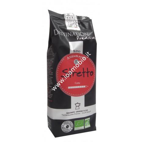 Caffè Stretto Italiano n.11 - Arabica Robusta Macinato 250g - Biologico