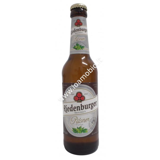 Birra Riedenburger Pilsner 330ml - Biologica, Bionda, Leggera con meno Alcool