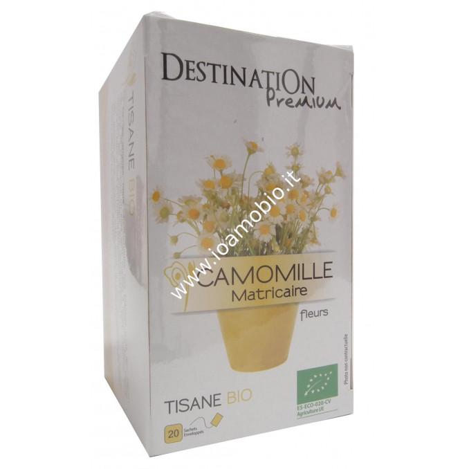 Tisana Camomilla Matricaria Fiori bustine - Biologica Destination 24g
