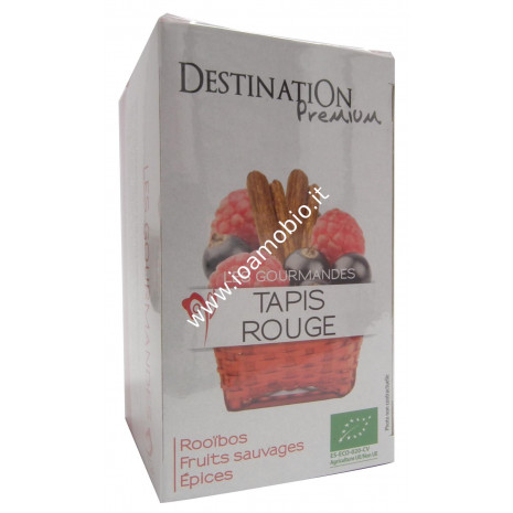Tappeto Rosso-rooibos,cannel.liquir.20x1.5g