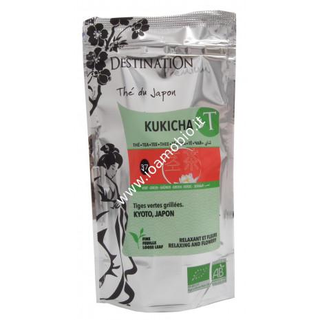 Kukicha Tè Verde Tostato Sfuso - Tè Biologico Giapponese 80g - Destination n.37