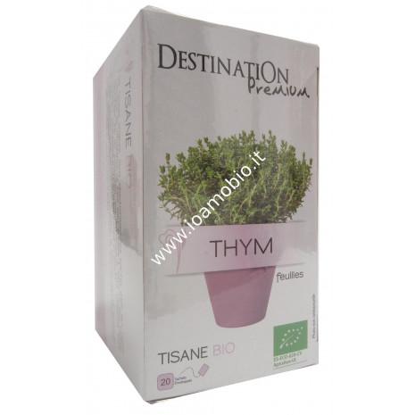 Tisana Timo Foglie - Biologica Destination filtri 20x1.5g