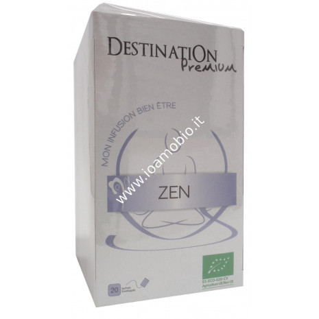 Tisana Zen - Infuso Biologico Rilassante e Lenitivo Destination 20x1.5g