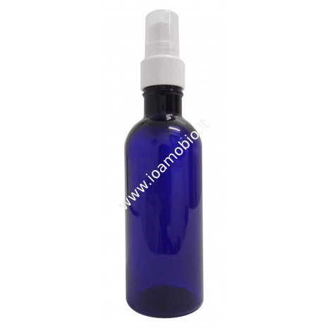 Flacone Pet Farmaceutico Blu - formato Spray Vuoto capienza 100ml
