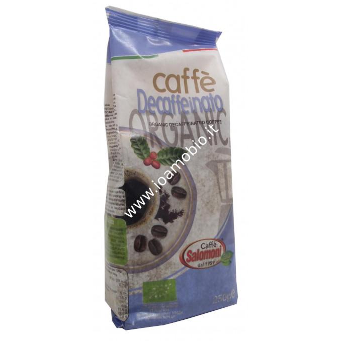 Caffè Espresso Decaffeinato Biologico 250g - Salomoni