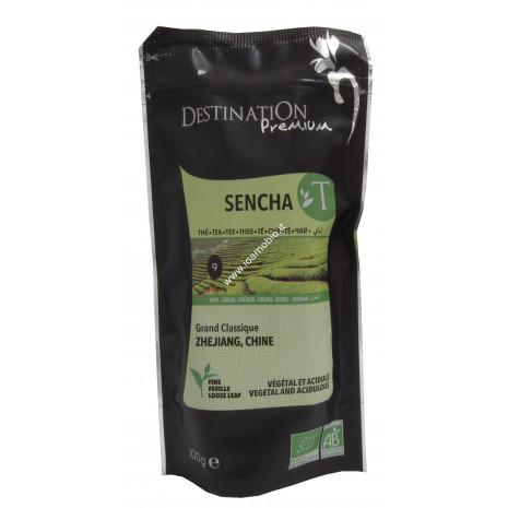 Sencha Tè Verde Sfuso 100g - Tè Verde Cinese Biologico - Destination n.9