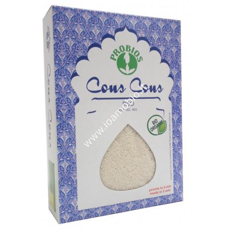 Cous Cous di Riso 500g - Biologico e Senza Glutine - Pronto in 6 minuti