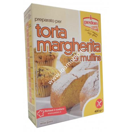 Preparato per Torta Margherita e Muffins 400g - Pedon