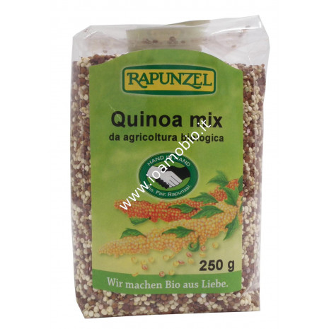 Quinoa Mix 250g - Quinoa Rossa e Bianca Biologica Rapunzel