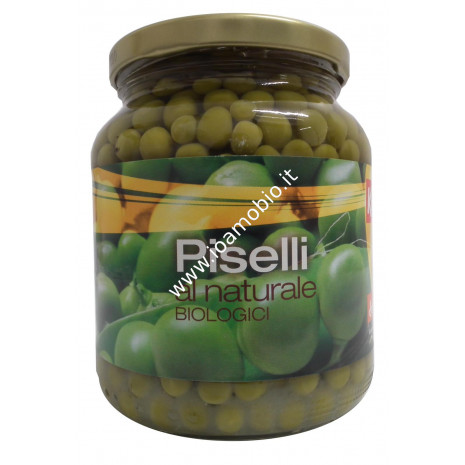 Piselli al Naturale 350g - Piselli Biologici Ki Group
